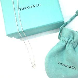 Tiffany & Co Elsa Peretti Diamond Pendant Necklace